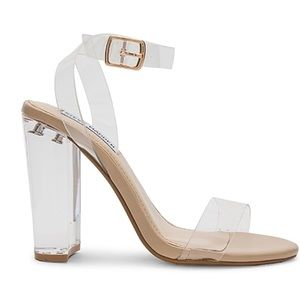 Camille sandal in clear